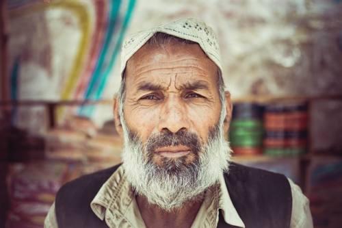 ヒゲのパキスタン人