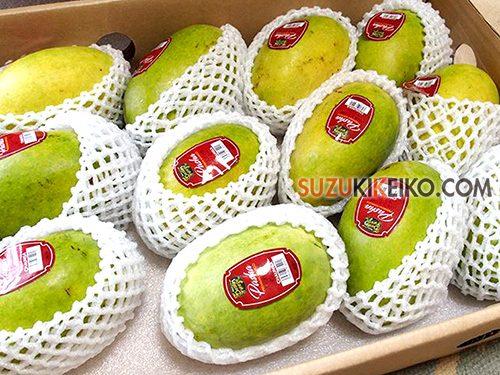 パキスタンのマンゴー チョンサ(チョウンサ)