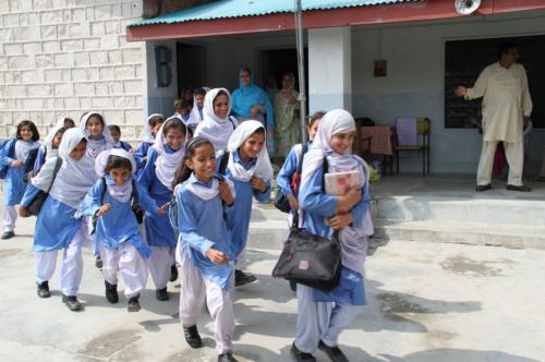 パキスタンの学校