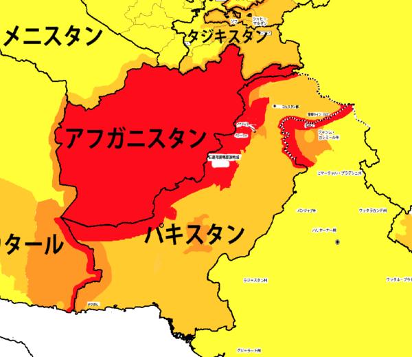 南西アジア地域海外安全情報 パキスタン