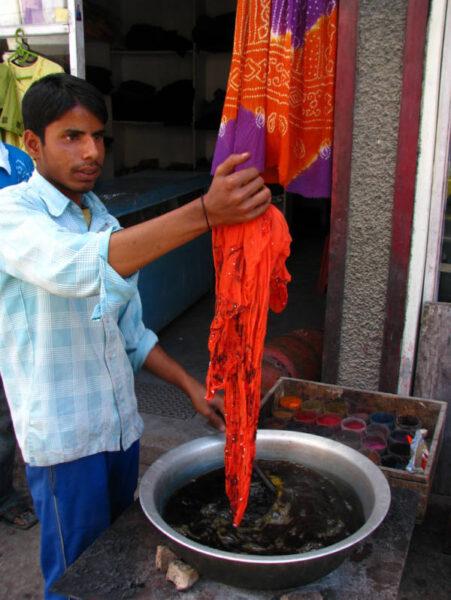 インドの染物屋さん