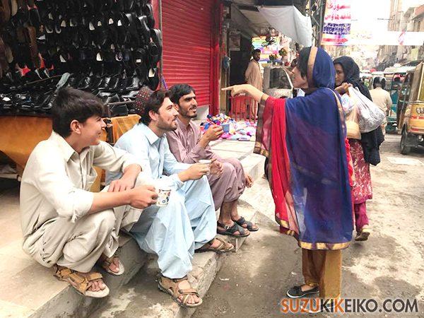 パキスタンでイケメンハンティング