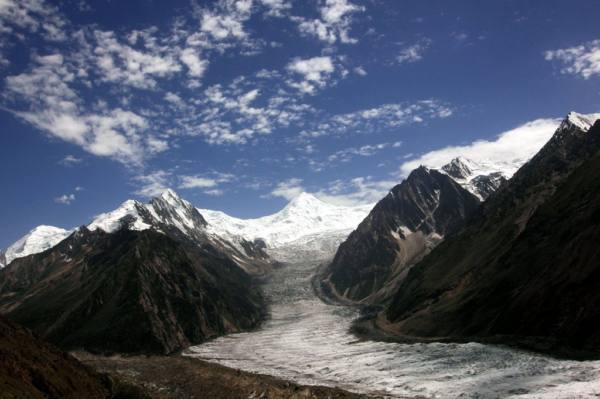 パキスタンの氷河
