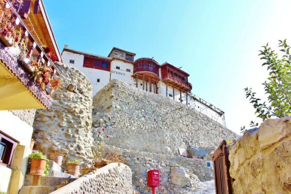 フンザ藩王国時代にミールの居城であったバルティットフォート