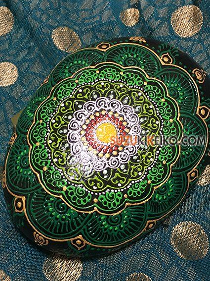 インド人メヘンディアーティストの作品