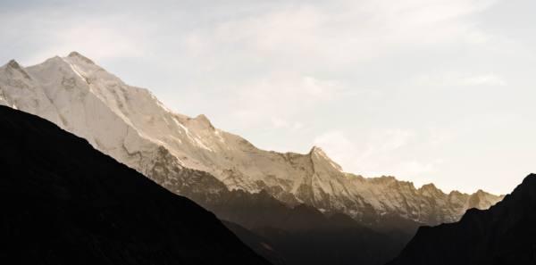 フンザの山 ラカポシ