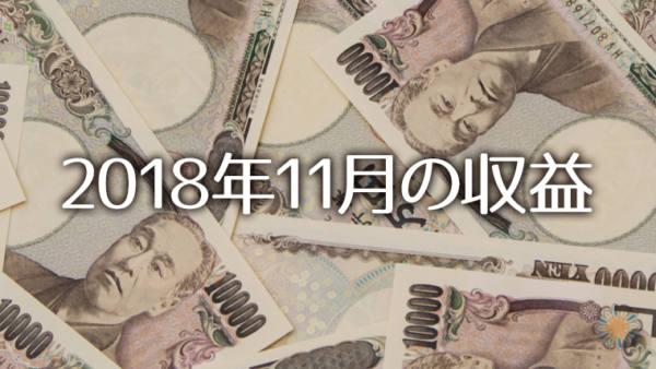 2018年11月の収支