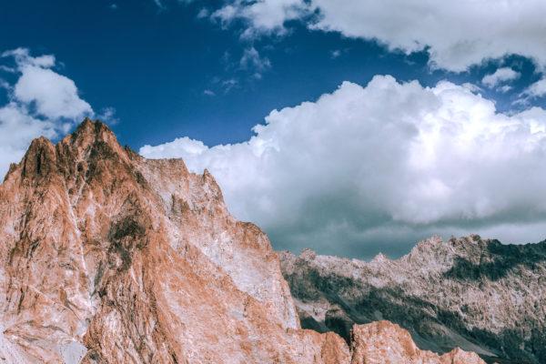 パキスタンの山