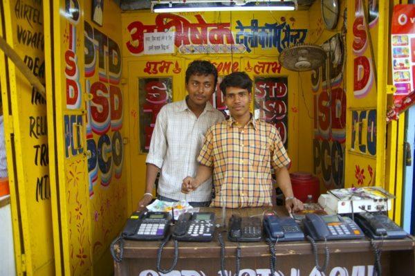 インドの電話屋 std isd