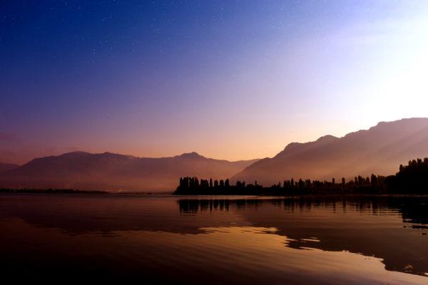 カシミールの湖
