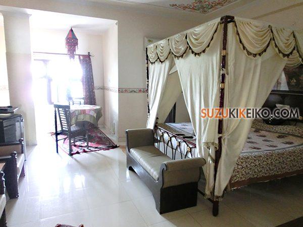 インド ジャイプールのハヴェーリホテル