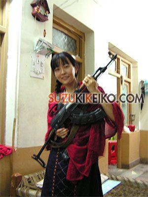 ペシャワールでお世話になってた家の自動小銃