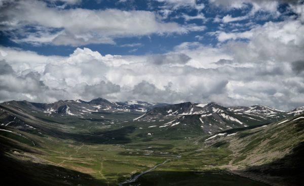 バブーサル峠からの眺め