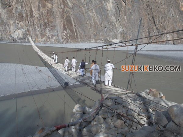 フサニの吊り橋