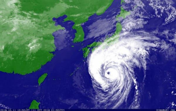 台風19号(ハギビス・HAGIBIS)