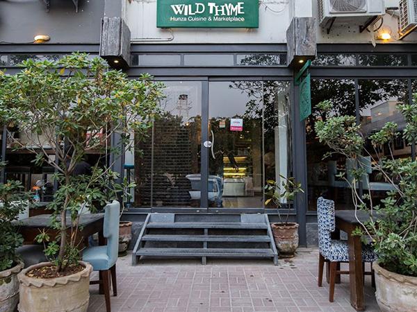 イスラマバードのフンザ料理レストランWild Thyme