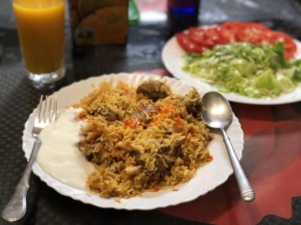 ウマルさんのママンの作った世界一おいしいパキスタンのビリヤニ