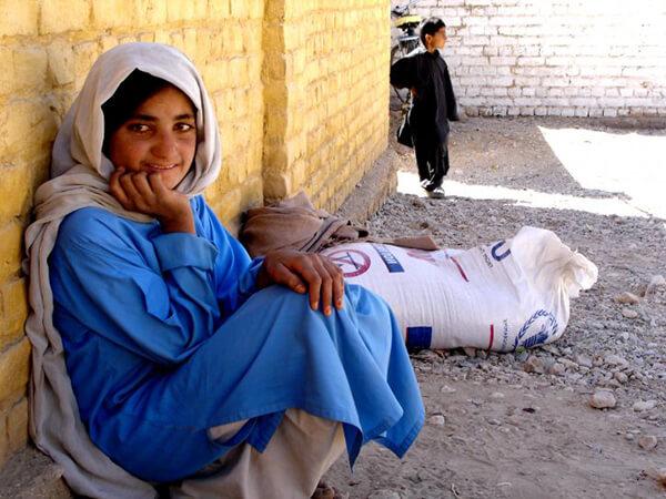 パキスタンの女性