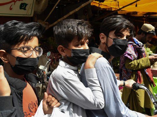 パキスタンの新型コロナウイルス感染者