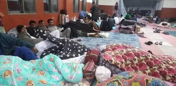 タフタン(イラン国境)の隔離施設