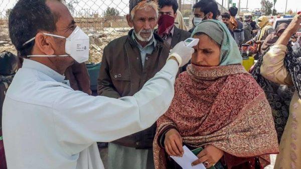 パキスタンのコロナウイルス(COVID-19)感染者