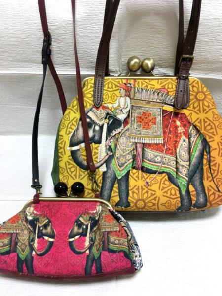インドのバッグをリメイク