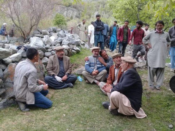 PTIの政治家がギルギットバルティスタンを視察