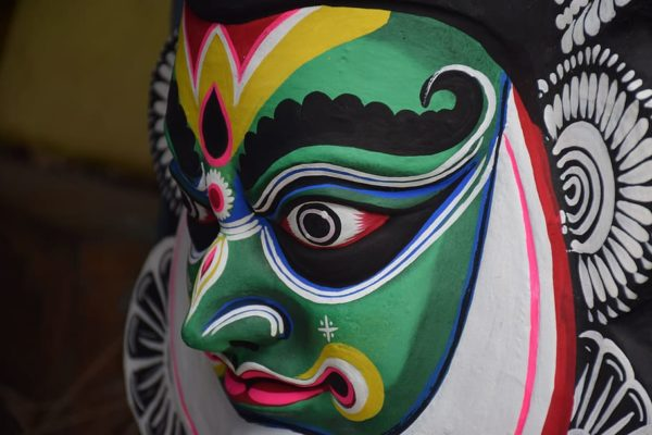 インドのマスク(カタカリ)