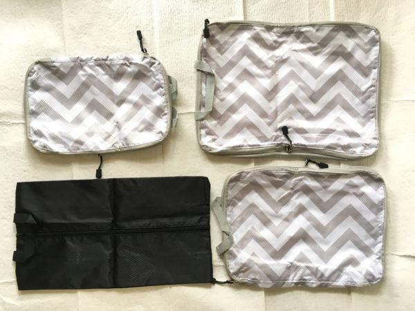 衣類圧縮バッグの大きさや重さ、生地について