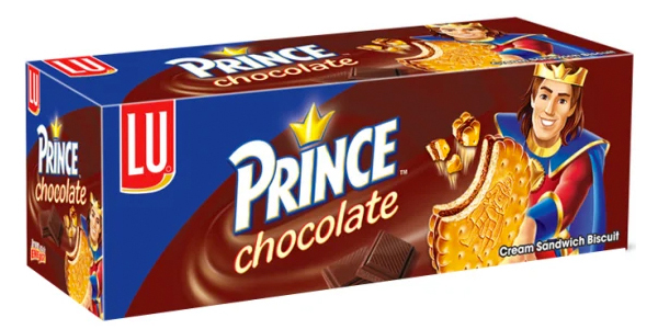 LU Prince Chocolate Sandwich Biscuits